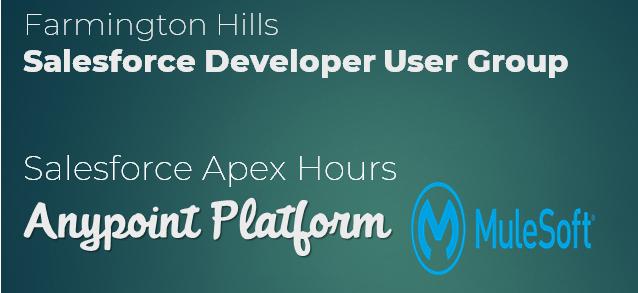 Anypoint Platform Mulesoft - Apex Hours