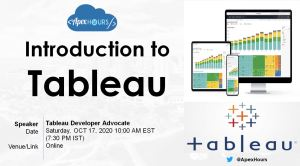 Introduction to Tableau