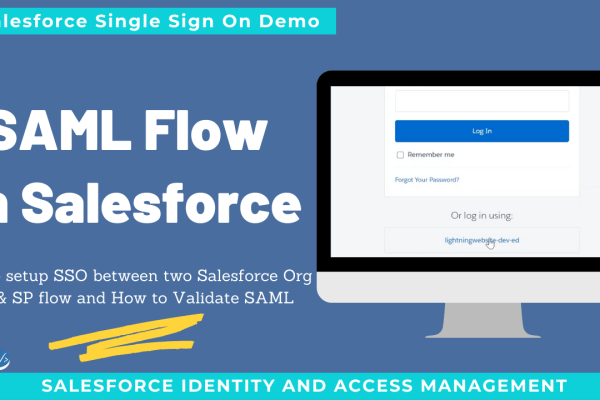 SAML Flow in Salesforce