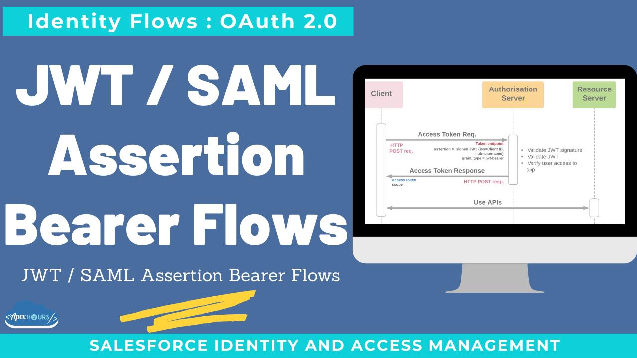 JWT : SAML Assertion Bearer Flows