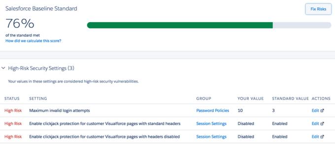 Salesforce Health Checker