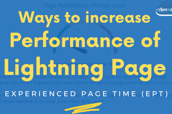 Increase perforce of lightning page