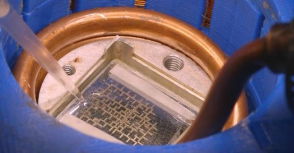 Computer Runs On Water