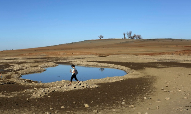 """depleted water basin"""