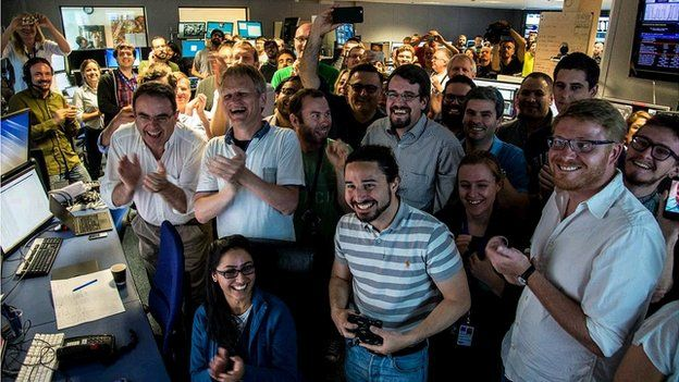 """scientists at cern celebrate the discovery of pentaquark particles"""