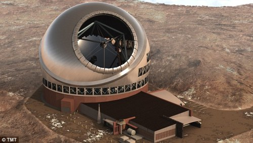 """Thirty Meter Telescope Mauna Kea Hawaii"""