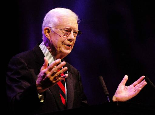 ''Jimmy Carter States God Would'Hit 'Like' for Gay Marriage''