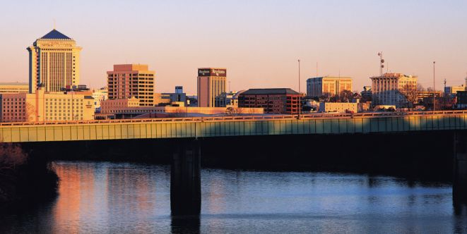 The Montgomery skyline.