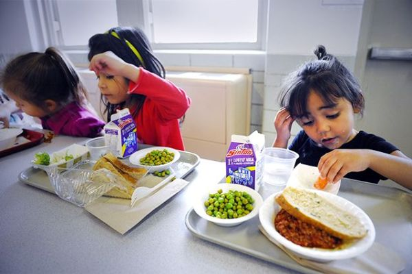 """schools are offering healthier meals"""