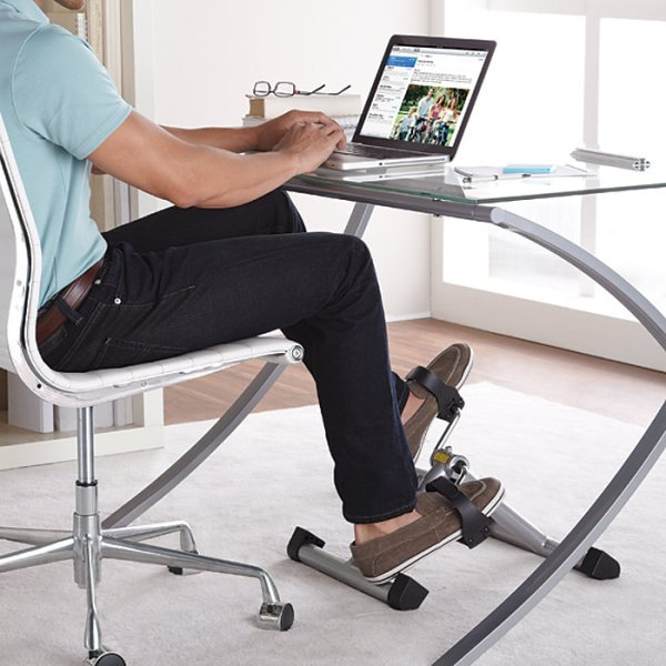 Desks With Pedals Aim To Reduce Sedentary Lifestyle