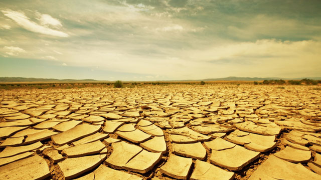 "alt=""Dried Land Affected by Drought"""