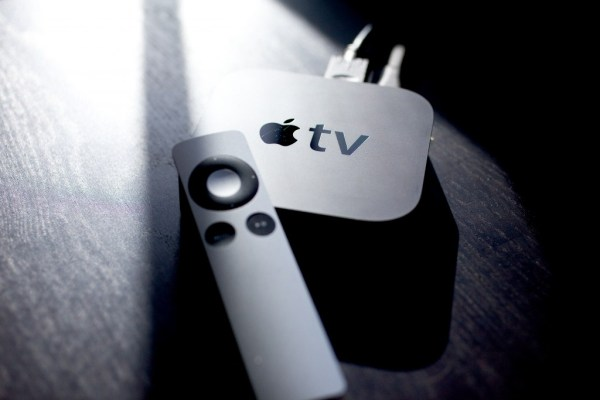 """apple is making their way into gaming through the apple tv"""