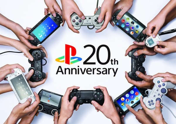 """playstation's 20th anniversary"""