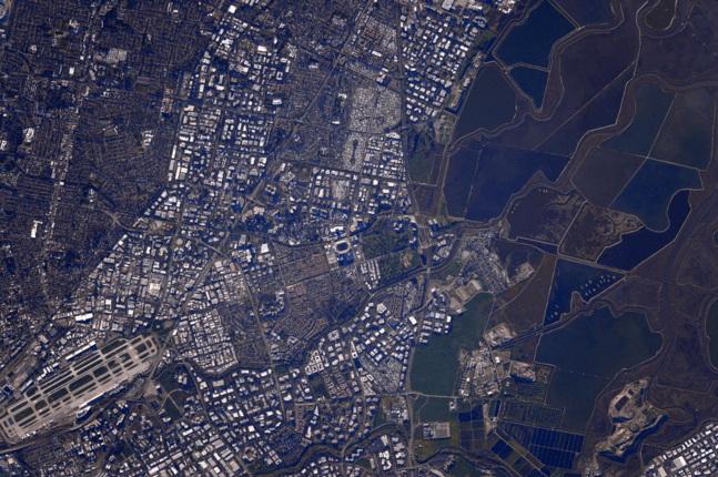 """super bowl from space"""