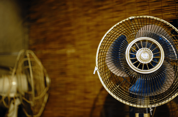 People Using Electric Fan : Electric fans are dangerous for older people during