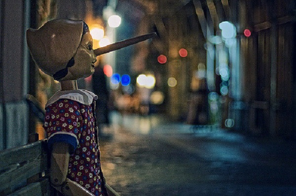 An image of a Pinocchio puppet