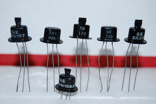 Many shapes and sizes of transistors