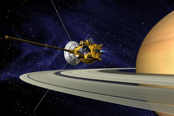 An illustration of Cassini