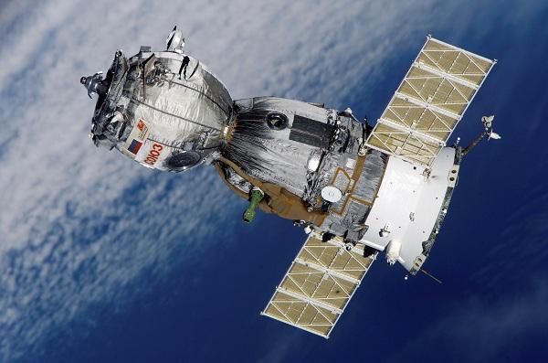 A Soyuz spacecraft