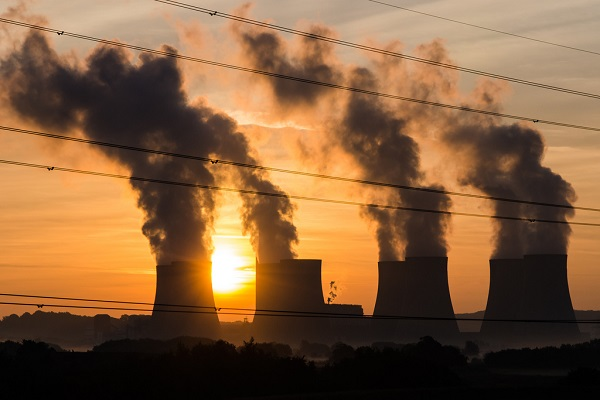 Air pollution from power plants