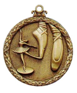 Antique Ballet Medal
