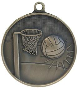 70mm Netball Medal