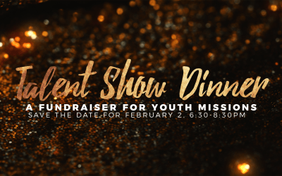 Youth Talent Show Dinner