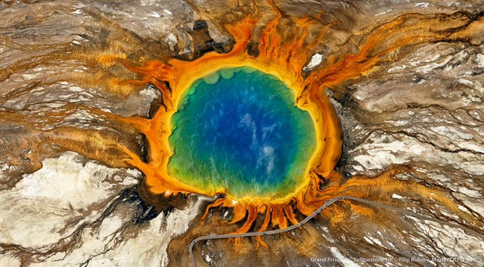 Grand Prismatic, Yellowstone NP by © Filip Kulisev,Master QEP, FBIPP