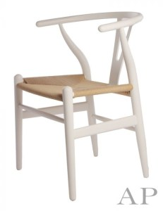 white-hans-wegner-replica-chair