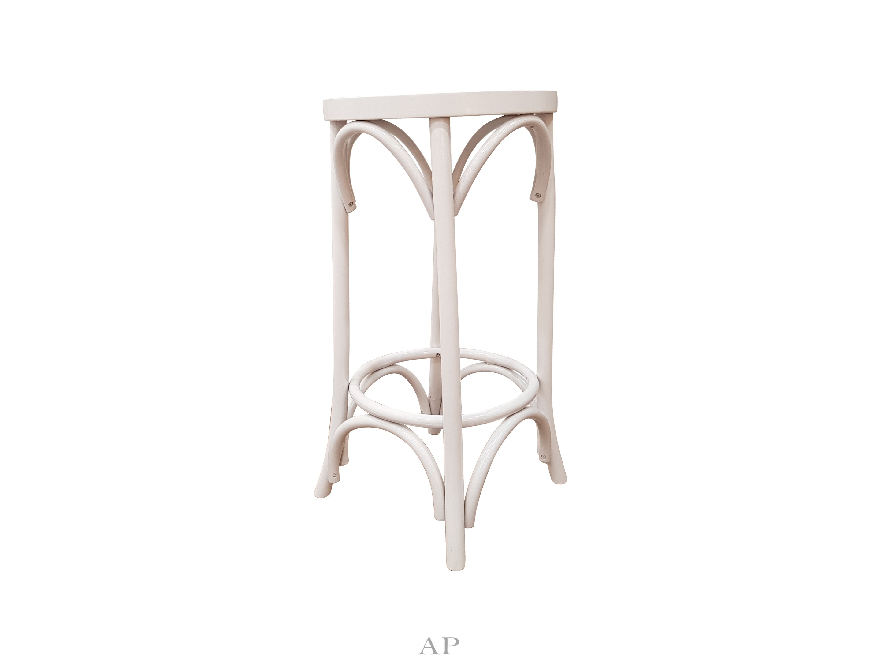 Enjoyable Bentwood Bar Stool White Side Close S Pabps2019 Chair Design Images Pabps2019Com