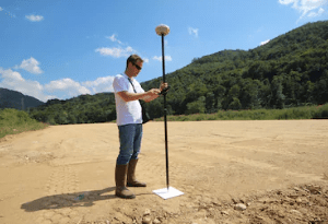 Complete GPS kits for land surveying