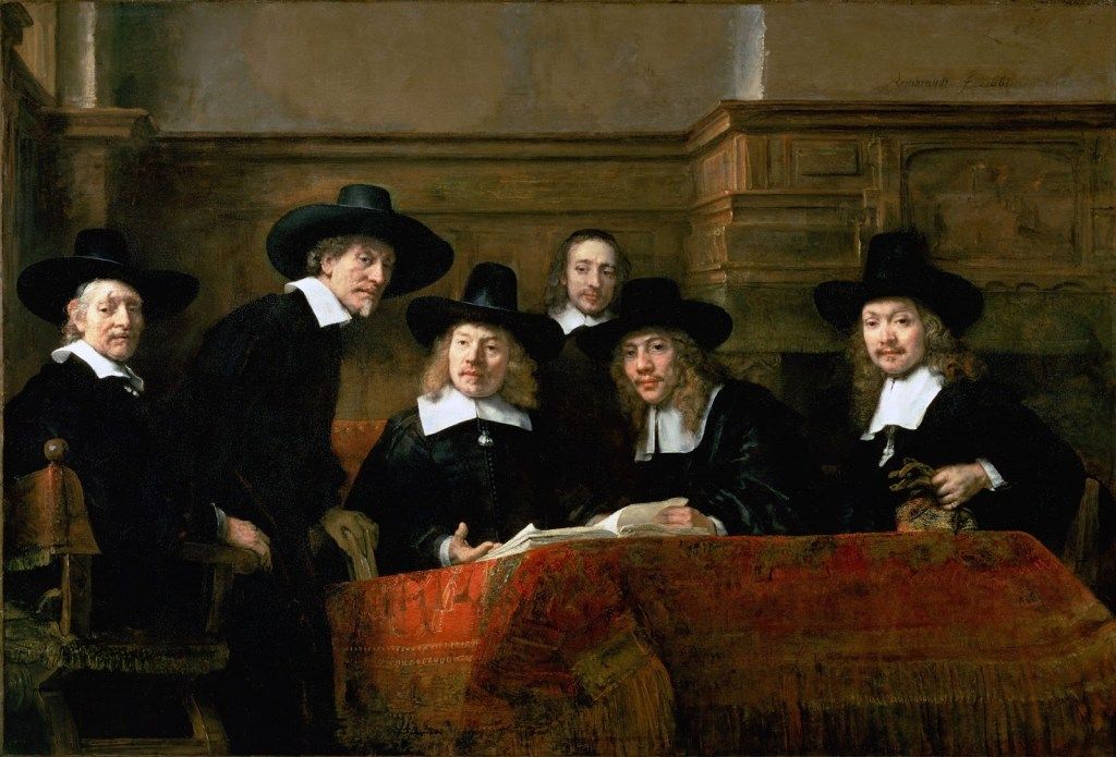 Rembrandt_-_De_Staalmeesters_-_The_Syndics_of_the_Clothmaker's_Guild