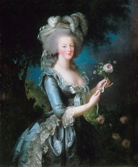 Marie-Antoinette with the Rose (1783) Élisabeth Louise Vigée-LeBrun (1755-1842) Wikimedia Commons