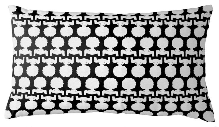 silhouette petite lumbar pillow