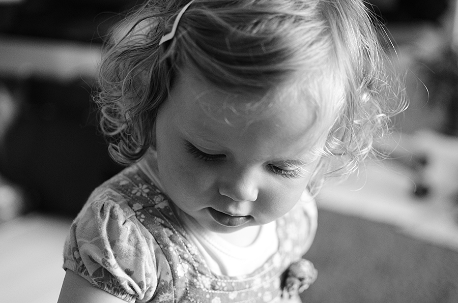 Isabelle at eighteen months
