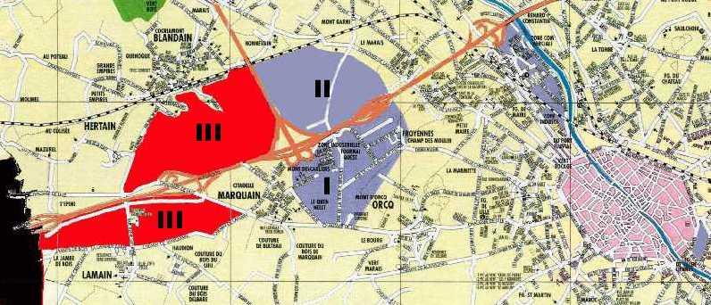 Plan Prioritaire ZAE de la Région wallonne : avant-projet de 368 ha