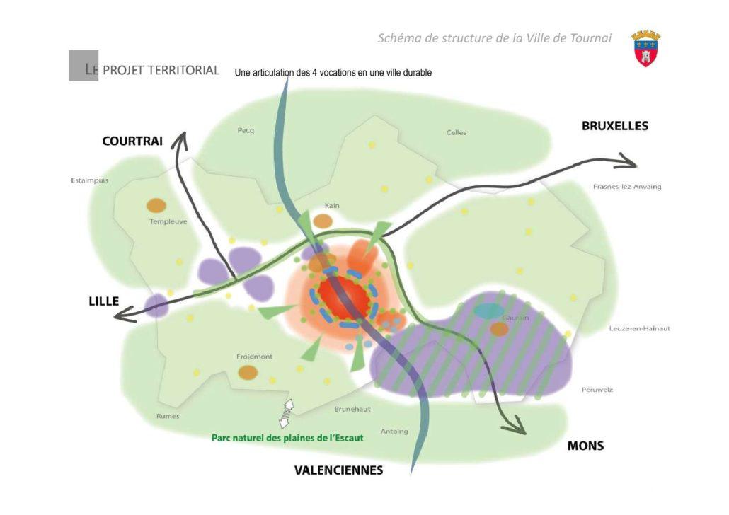 Un e-campus de 50 ha (Tournai Ouest IV) à Lamain en projet !