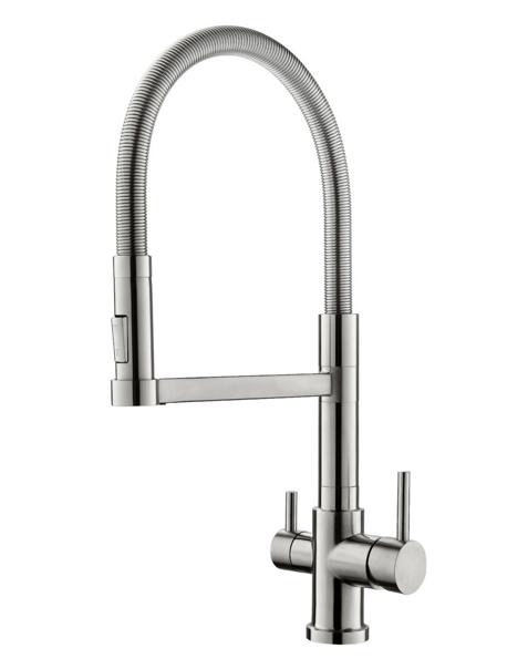 robinet mitigeur 3 voies flexible