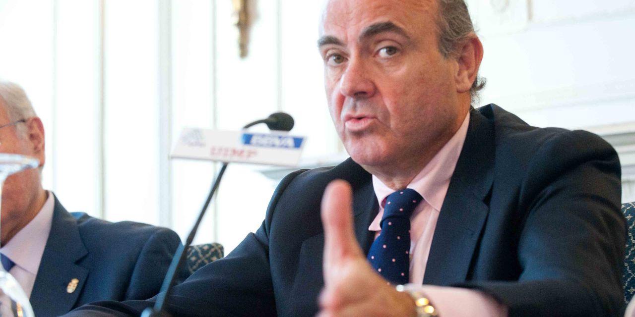 """Luis de Guindos: """"el procedimiento concursal tiene que dejar de ser una trituradora de empresas"""""""