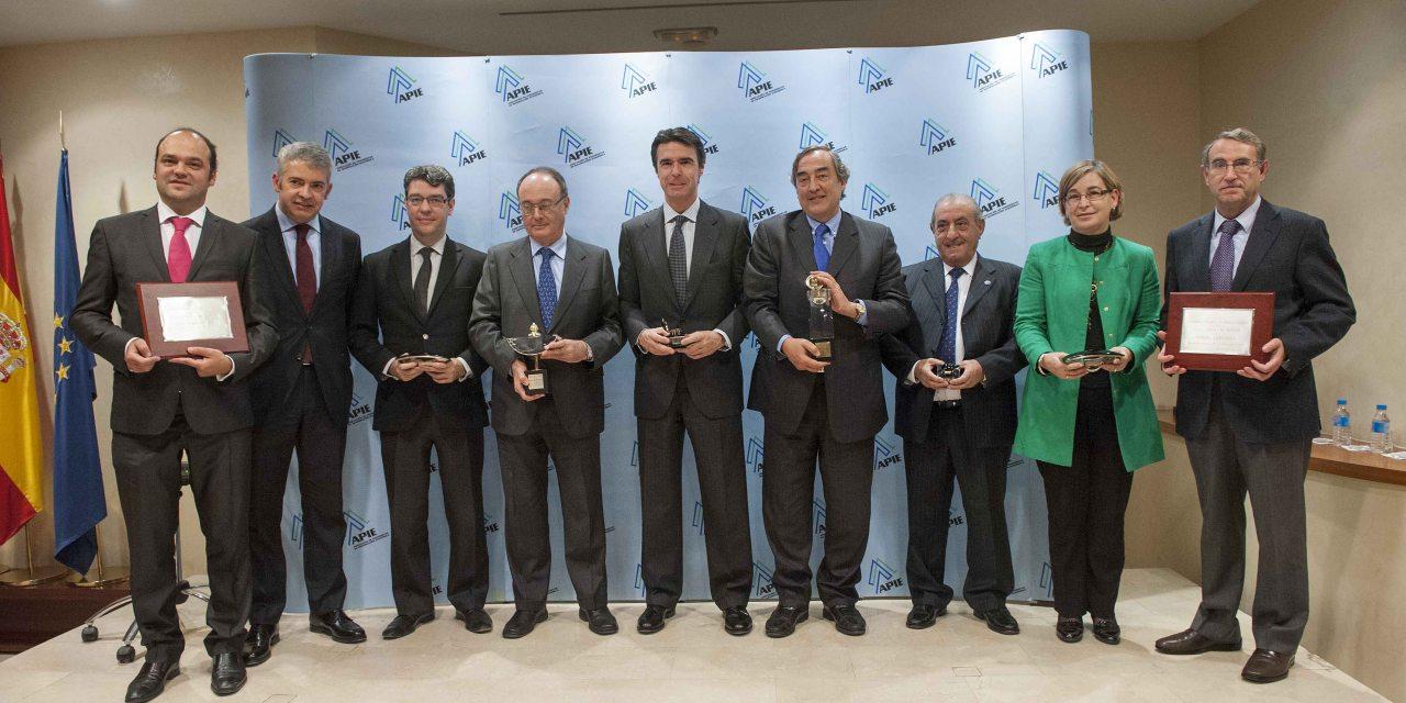 Juan Rossell y Luis María Linde, Premios Tintero y Secante 2013