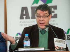 Álvaro Nadal, Director de la Oficina Económica del Presidente del Gobierno, en un momento del debate organizado por APIE.