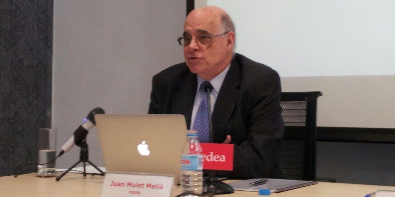 """Juan Mulet: """"En España no ha habido nunca una verdadera política de innovación"""""""