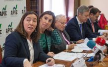 Susana Graupera, Directora del área Corporate de Atrevia, en un momento de la presentación del XI Informe sobre Juntas Generales de las Empresas del Ibex.