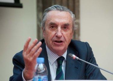 Jose María Marín Quemada, presidente de la CNMC, en un momento de la presentación del Balance de 2015, organizada con APIE.
