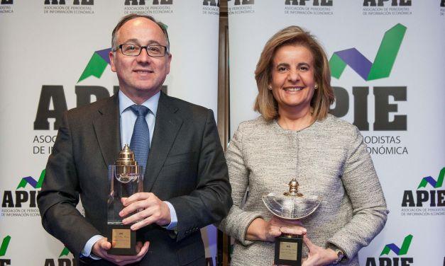 Luis Gallego y Fátima Báñez, premios Tintero y Secante 2016