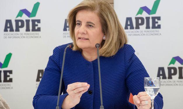 """Fátima Báñez: """"Este es el 8 de marzo con más mujeres trabajando en la historia de España"""""""