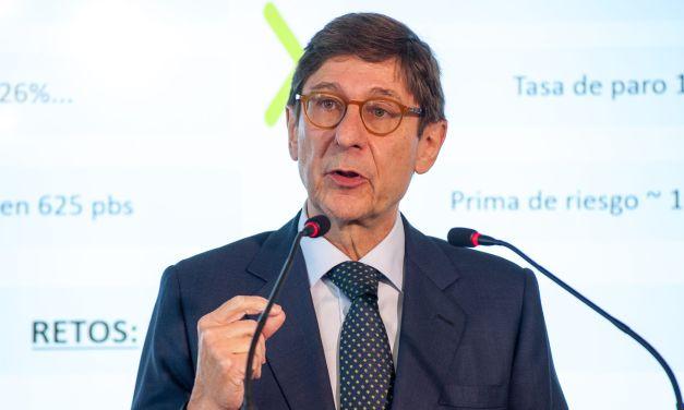 "Jose Ignacio Goirigolzarri: ""En este momento el modelo actual de Bankia no está en discusión"""