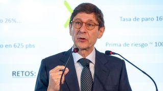 José Ignacio Goirigolzarri, presidente de Bankia, en su intervención en el Curso de Economía organizado por la APIE en la Universidad Menéndez Pelayo de Santander.