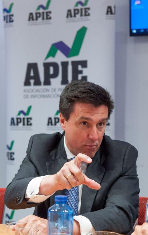 Ismael Clemente, CEO de Merlin Properties, durante su intervención en la mesa redonda dedicada al sector inmobiliario en el XXXI Curso de Economía organizado por APIE.