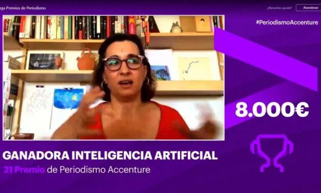 Rebeca Gimeno, ganadora del XXI Premio de Periodismo Accenture
